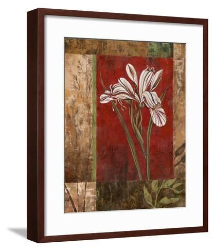 Jeweled Iris II-Maria Donovan-Framed Art Print
