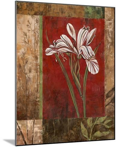 Jeweled Iris II-Maria Donovan-Mounted Art Print
