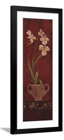 Orchid Allure I-Maria Donovan-Framed Art Print