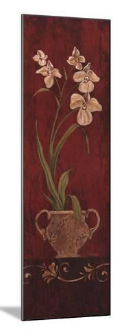 Orchid Allure I-Maria Donovan-Mounted Art Print