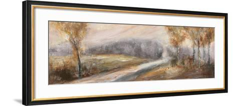 Through the Tree Line II-Rosemary Abrahams-Framed Art Print