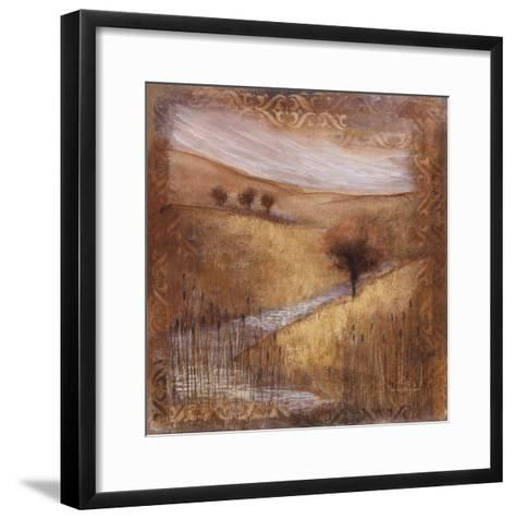 Waterside II-Rosemary Abrahams-Framed Art Print