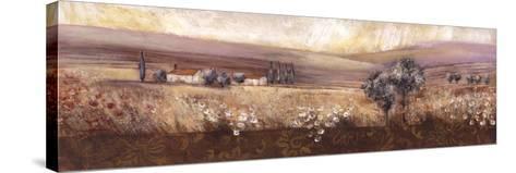 OvertheHorizonII-Rosie Abrahams-Stretched Canvas Print