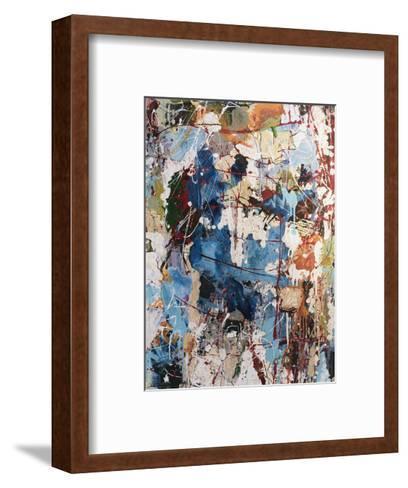 Blue View-William Montgomery-Framed Art Print