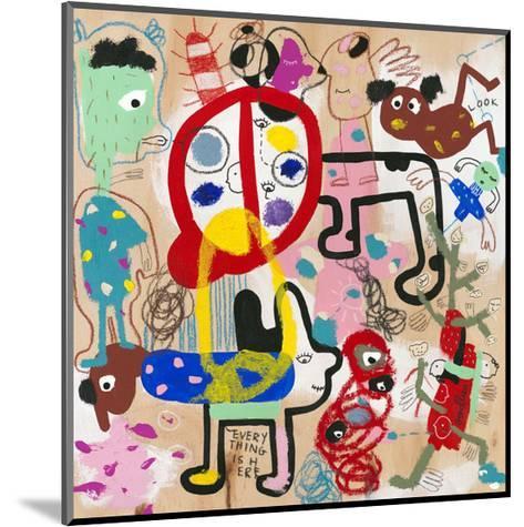 Look (everything is here)-Joi Murugavell-Mounted Art Print