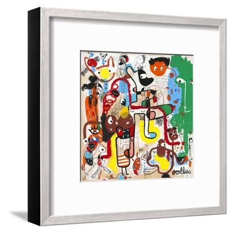 Curb Your Insta Gratification-Joi Murugavell-Framed Art Print