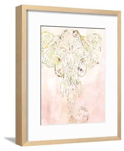 Mandala Wild 1-Kimberly Allen-Framed Art Print