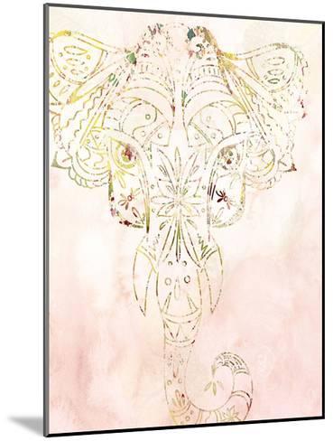 Mandala Wild 1-Kimberly Allen-Mounted Art Print