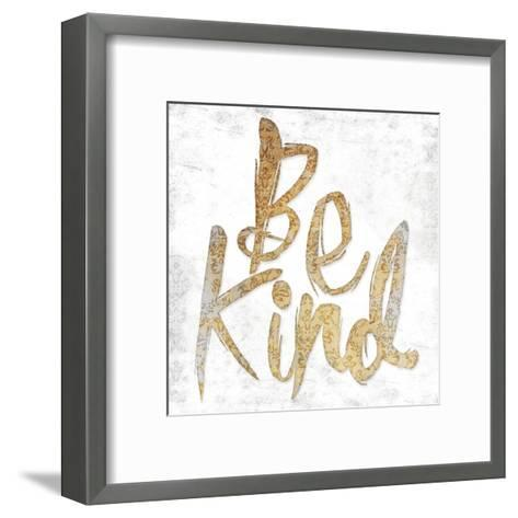 Be Kind-Jace Grey-Framed Art Print