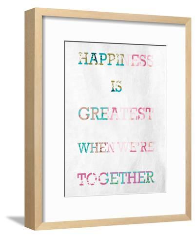 Greatest Happiness-Marcus Prime-Framed Art Print