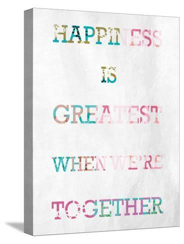 Greatest Happiness-Marcus Prime-Stretched Canvas Print
