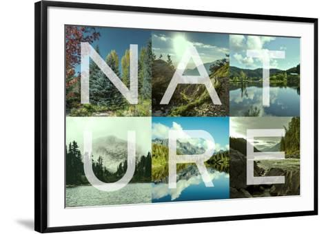 Nature Patch-Marcus Prime-Framed Art Print