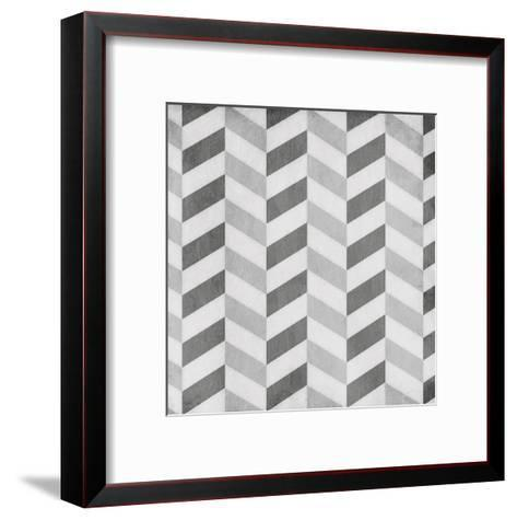Up Down Grey-Jace Grey-Framed Art Print