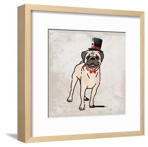 Magical Pug 2-Marcus Prime-Framed Art Print