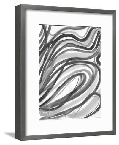 Charcoal Ripples 2-Smith Haynes-Framed Art Print
