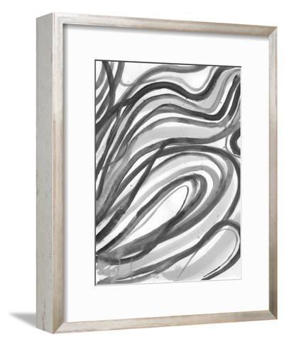 Charcoal Ripples 2-Smith Haynes-Framed Art Print