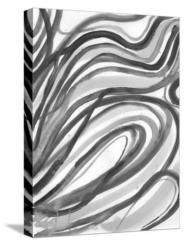 Charcoal Ripples 2-Smith Haynes-Stretched Canvas Print