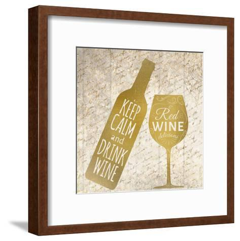 Red Wine-Kimberly Allen-Framed Art Print