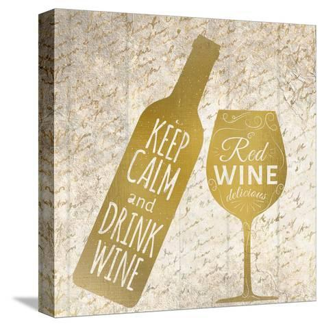 Red Wine-Kimberly Allen-Stretched Canvas Print