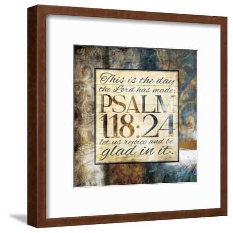 Glad In lt-Jace Grey-Framed Art Print