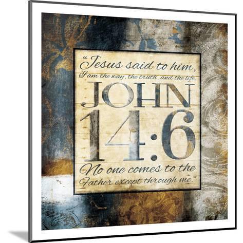 Jesus Said Him-Jace Grey-Mounted Art Print