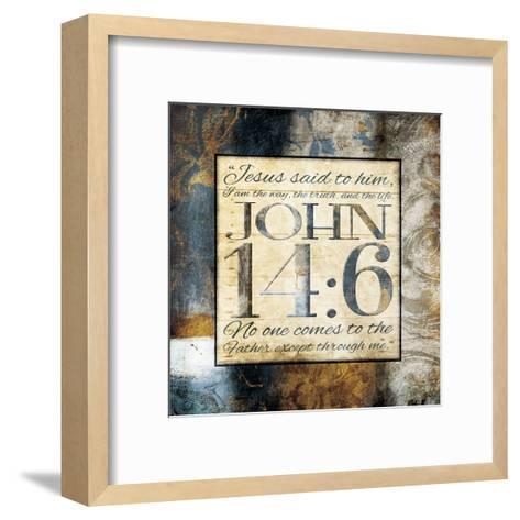 Jesus Said Him-Jace Grey-Framed Art Print