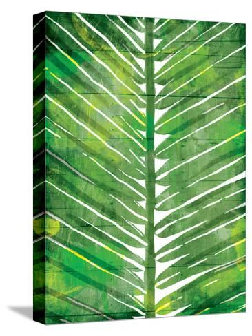 Watercolor Palms Mate-OnRei-Stretched Canvas Print