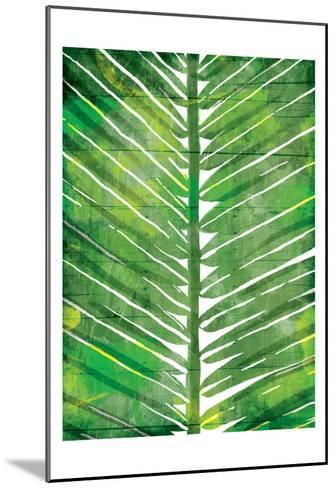 Watercolor Palms Mate-OnRei-Mounted Art Print