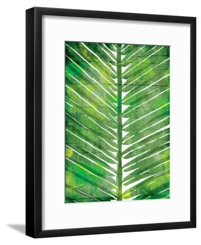 Watercolor Palms Mate-OnRei-Framed Art Print