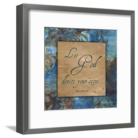Let God_Winter Rain-Smith Haynes-Framed Art Print