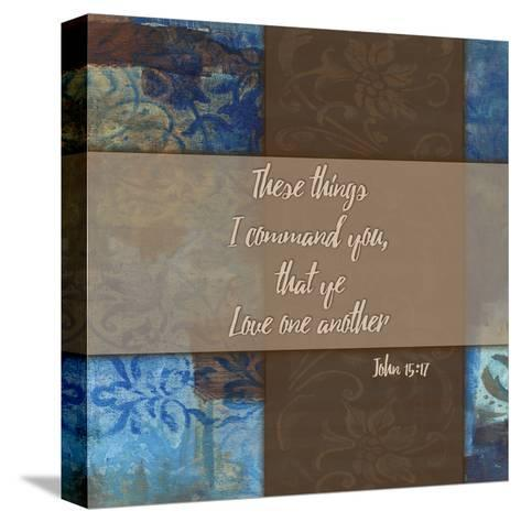 Love One Another_Winter Rain-Smith Haynes-Stretched Canvas Print