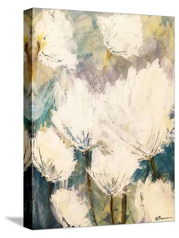 Floral Outburst-Victoria Brown-Stretched Canvas Print