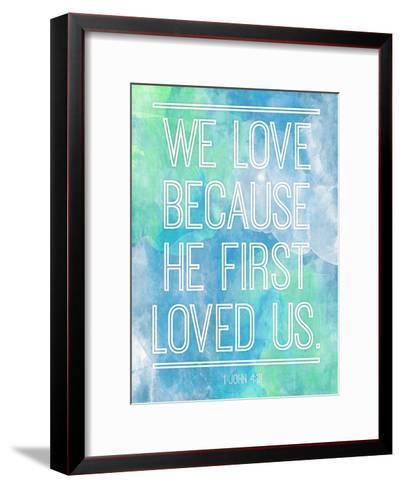 We Love-Jace Grey-Framed Art Print
