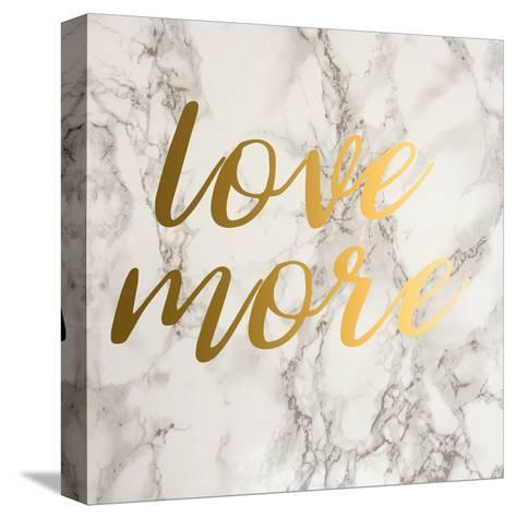 Love More-Jelena Matic-Stretched Canvas Print