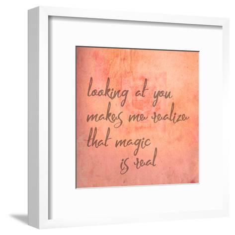 Looking At You-Jelena Matic-Framed Art Print