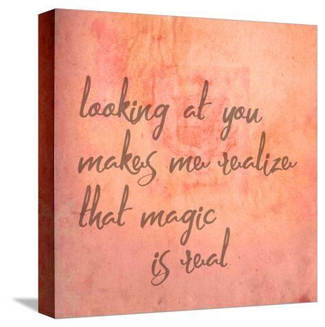 Looking At You-Jelena Matic-Stretched Canvas Print