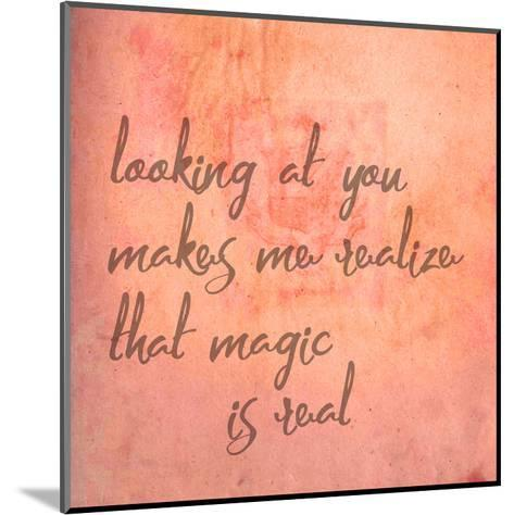 Looking At You-Jelena Matic-Mounted Art Print