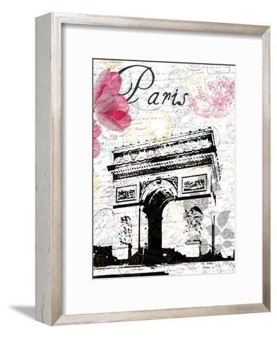 All Things Paris 3-Sheldon Lewis-Framed Art Print