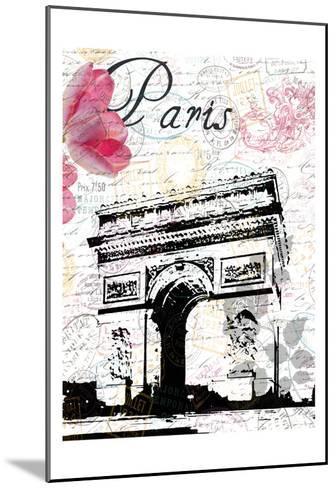 All Things Paris 3-Sheldon Lewis-Mounted Art Print