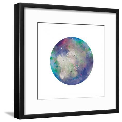 Galaxy 2-Victoria Brown-Framed Art Print