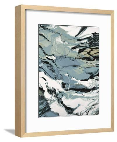 Lunar Currents-Barbara Bilotta-Framed Art Print