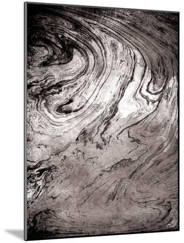 Grey Sea Marble-Jace Grey-Mounted Art Print