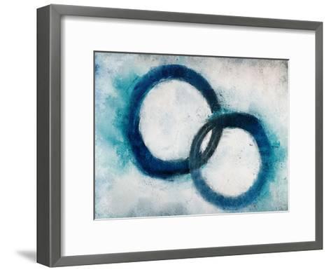 Navy Rings-Kimberly Allen-Framed Art Print