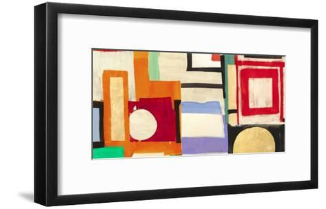 Ships Sailing Quietly-Leonardo Bacci-Framed Art Print