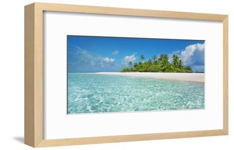 Palm island, Maldives-Frank Krahmer-Framed Art Print