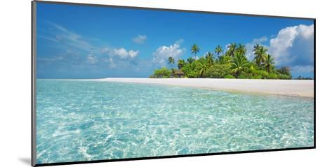 Palm island, Maldives-Frank Krahmer-Mounted Giclee Print