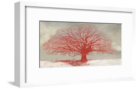 Red Tree-Alessio Aprile-Framed Art Print
