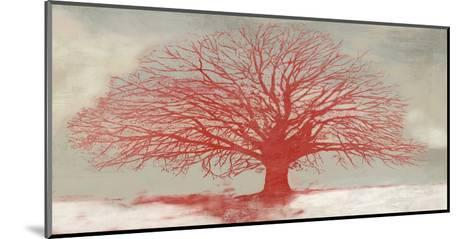 Red Tree-Alessio Aprile-Mounted Giclee Print