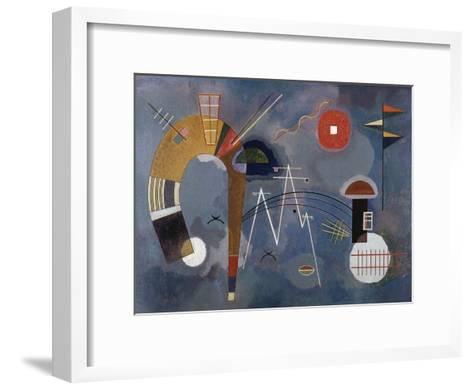 Round and Pointed-Wassily Kandinsky-Framed Art Print
