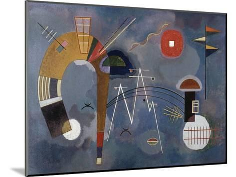 Round and Pointed-Wassily Kandinsky-Mounted Giclee Print